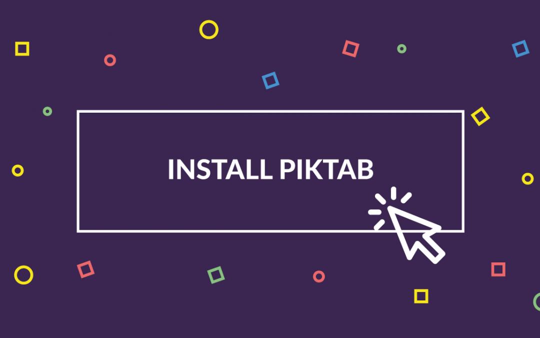 Piktab, recursos gráficos gratuitos de calidad