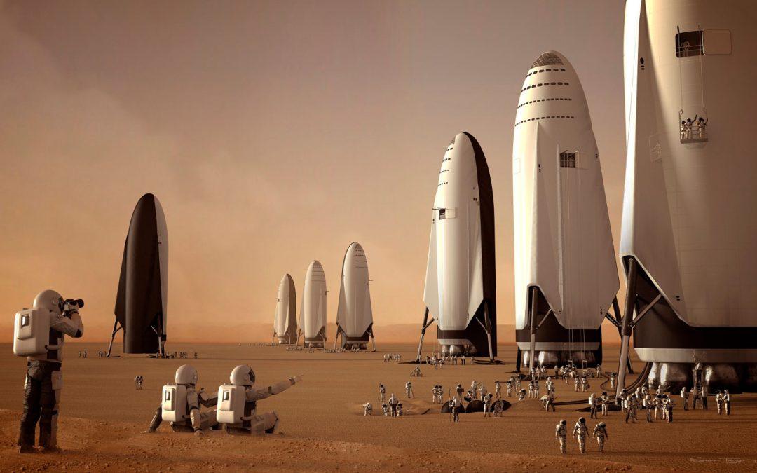 Descubre la nave que nos llevará a Marte en el 2019