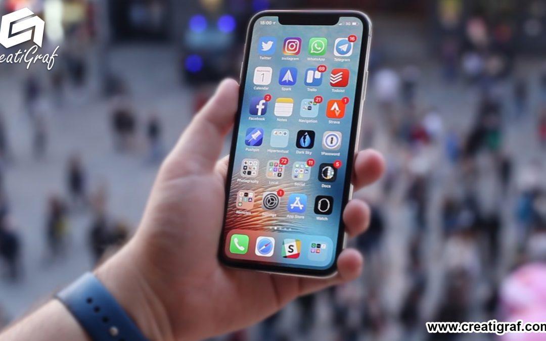 Apple diseña el iphone del futuro con pantalla curva y control sin tocar la pantalla