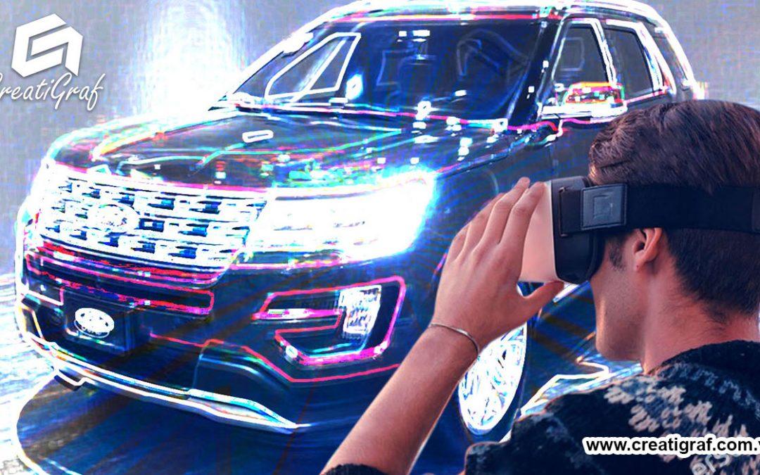 Ford diseña vehículos con las HoloLens y Realidad Aumentada