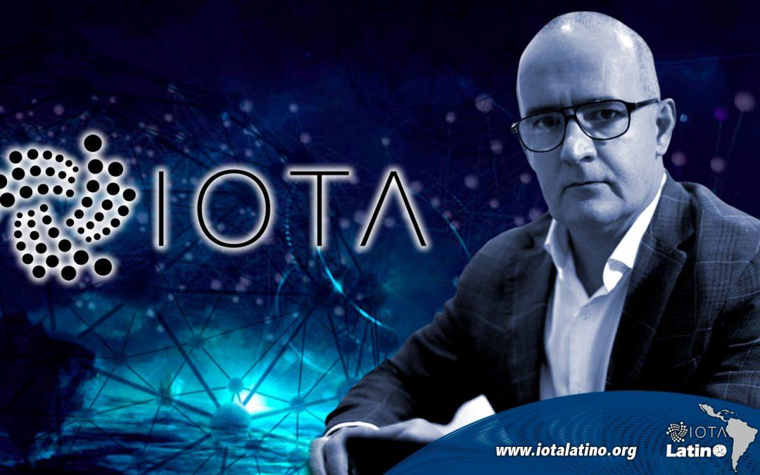 Saúl Ameliach Presidente de la Fundación IOTA LATINO