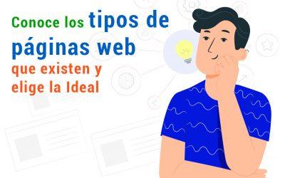 Conoce los tipos de páginas Web que existen y elige la ideal para tu negocio online