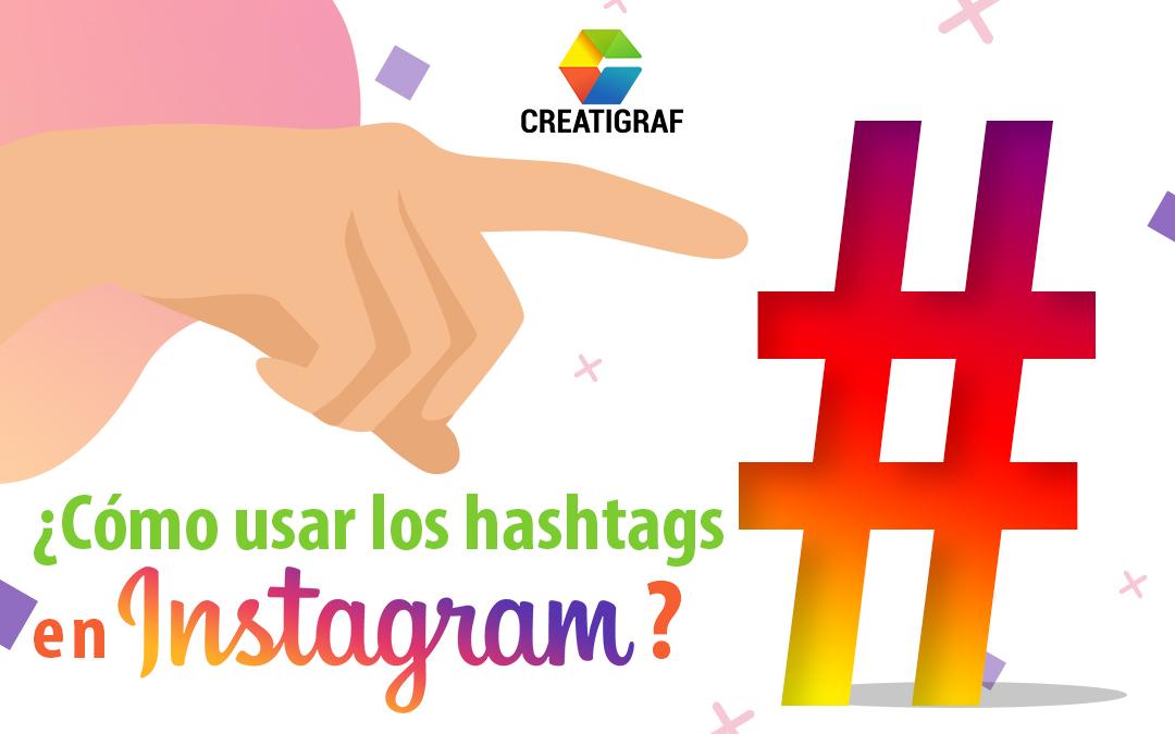 como usar los hashtag