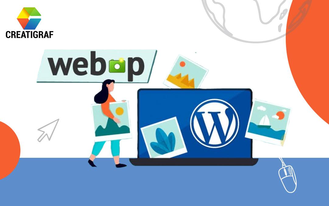 archivos webP en WordPress