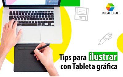 Conoce los mejores tips para ilustrar con tableta gráfica