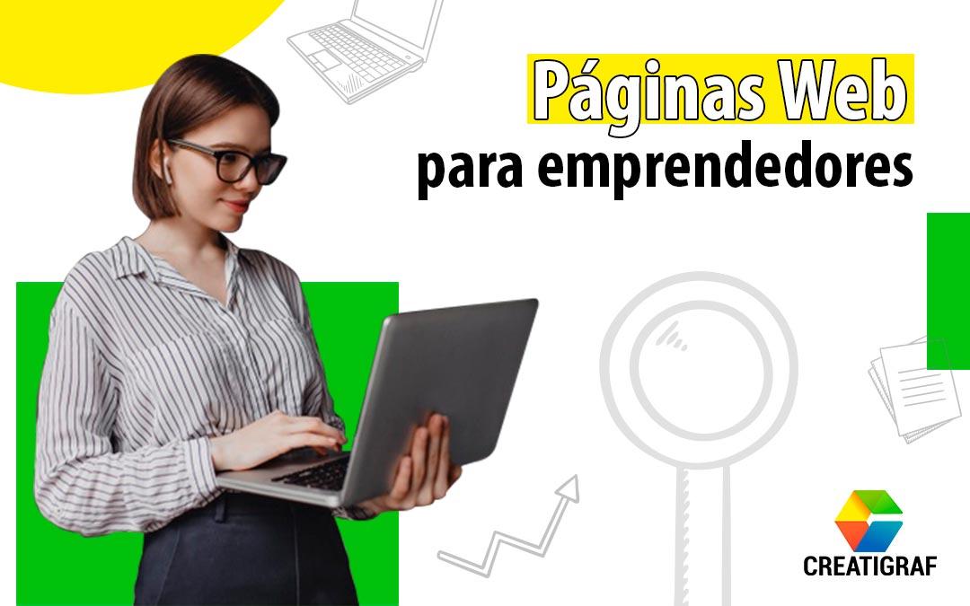 Páginas Web para emprendedores