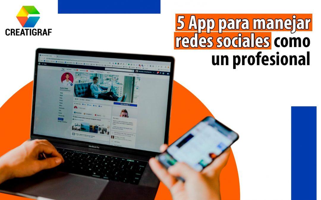 Community Manager: 5 app para manejar redes sociales como un profesional