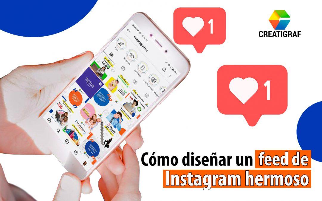 Cómo diseñar un feed de Instagram hermoso para tu negocio online
