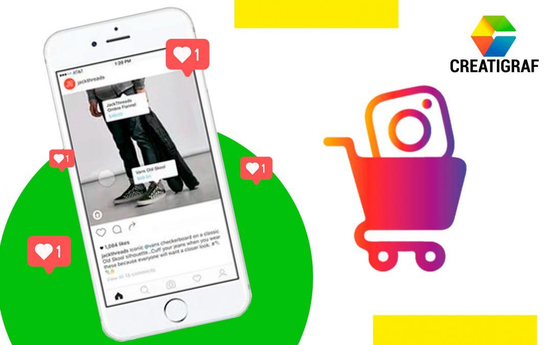 Compra usando imágenes en Instagram