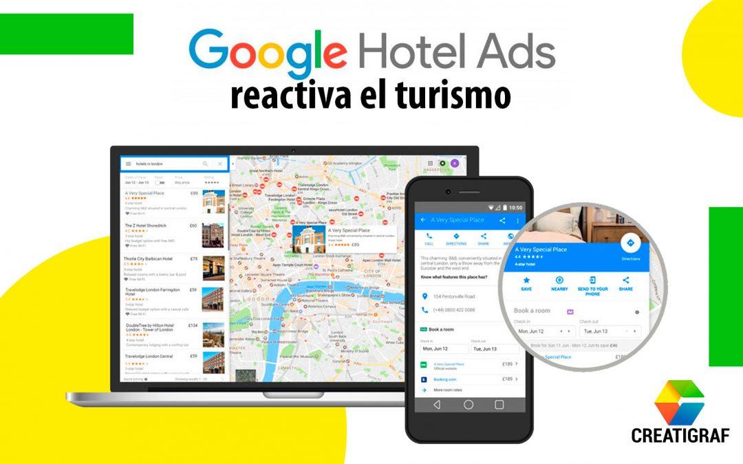 Google Hotel Ads reactiva el turismo