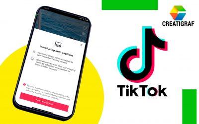 TikTok lanza nueva función de subtítulos automáticos en videos
