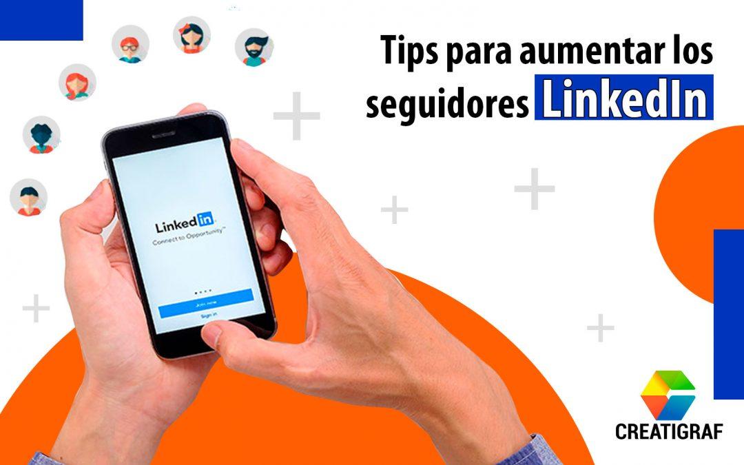 Aumentar seguidores en linkedin